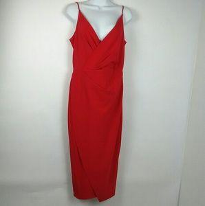Betsey Johnson long red dress size 6 VALENTINE